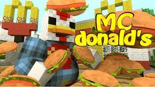 Minecraft | MCDONALDS MOD Showcase! (Mcdonalds, Big Mac, Mcdonalds Dimension)