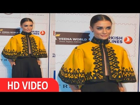 Amy Jackson At Red Carpet Of 5th Lonely Planet Magazine India Travel Awards