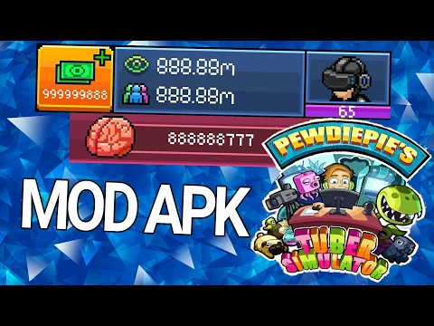 PewDiePie Tuber Simulator MOD APK (UNLIMITED Views & Bux)