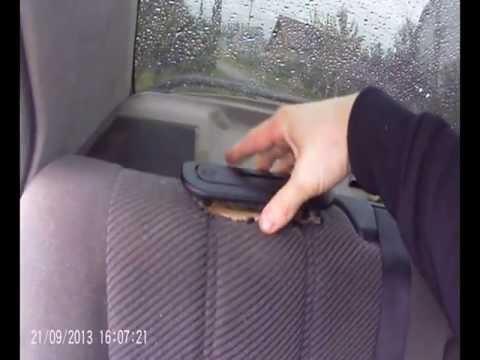 Как снять заднее сиденье на рено симбол фото