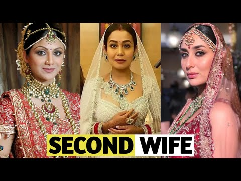 19 Bollywood Actresses Who Happily Became Second Wife