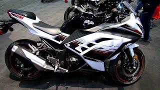 9. 2014 Kawasaki Ninja 300 ABS Special Edition Walkaround - 2014 Toronto Motorcyle Show