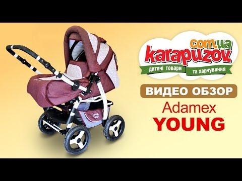 Обзор с испытаниями детской коляски Adamex Young (Адамекс Янг)