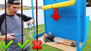 Video DONT Cut the Wrong Rope!! (EXTREME DROP TEST CHALLENGE) MP3, 3GP, MP4, WEBM, AVI, FLV Januari 2019