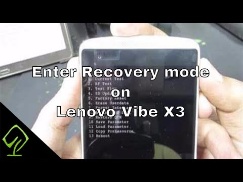 How to Enter Recovery mode and Fastboot mode on Lenovo Vibe X3