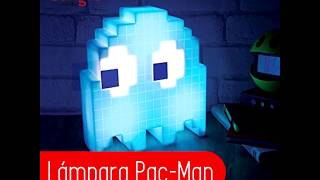 Lámpara Pac-Man