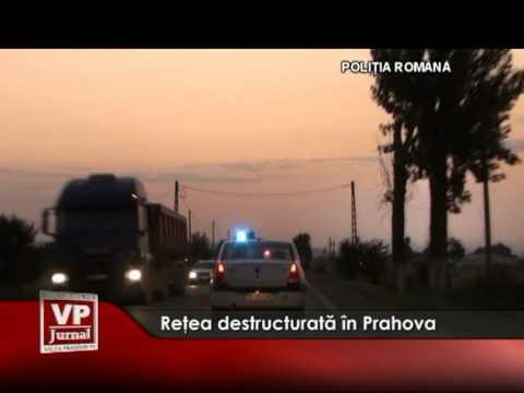 Reţea destructurată în Prahova