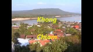 Khong Chiam Thailand  city images : Mae Nam Song Si (Two Color River) + Khong Chiam - Thailand 2013