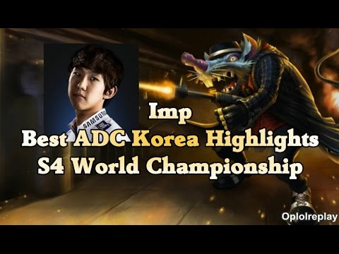 korea - Imp may not be the best ADC in the world right now but he is definitely the best in Korea after making deft cri kapppa. Music : Arcien - Elevate [NCS Release] Link : https://www.youtube.com/watch?...