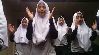 Senam SKJ 2008 XII IPS (girls squad) MA YUPI CIANJUR