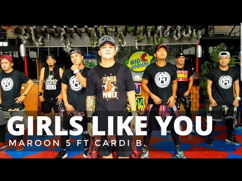 Video GIRLS LIKE YOU by Maroon 5 ft Cardi B | Zumba® | Bachata | Pre Cool Down | Kramer Pastrana download in MP3, 3GP, MP4, WEBM, AVI, FLV January 2017