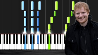 Video Ed Sheeran - Castle On The Hill - Piano Tutorial by PlutaX download in MP3, 3GP, MP4, WEBM, AVI, FLV Februari 2017