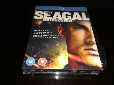 The Steven Seagal Collection - 2 Sets - 8 Blu Ray Set