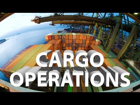 Video How are Containers Loaded? |  Cargo Operations on Container Ship download in MP3, 3GP, MP4, WEBM, AVI, FLV January 2017