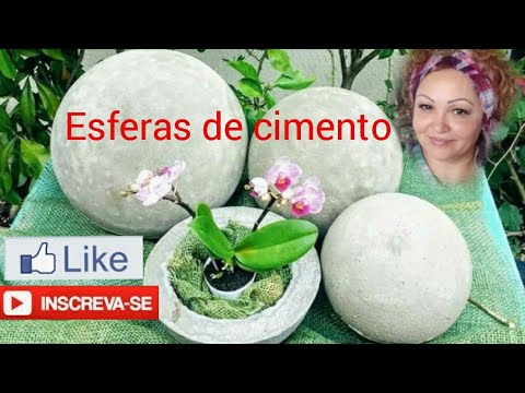 Esferas para jardim