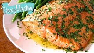 One of our favorite simple salmon recipes. Great for a quick weeknight meal or dress it up with one of our compound butter ideas ...