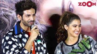Video Love Aaj Kal trailer launch | Kartik Aaryan and Sara Ali Khan's FUN media interaction |Bolly Quickie download in MP3, 3GP, MP4, WEBM, AVI, FLV January 2017