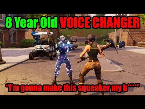 I Pretended To Be 8 YRS OLD In Playground Then DESTROYED BULLY - Fortnite Voice Changer_A héten feltöltött legjobb videójáték videók