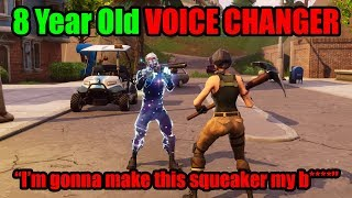 Video I Pretended To Be 8 YRS OLD In Playground Then DESTROYED BULLY - Fortnite Voice Changer MP3, 3GP, MP4, WEBM, AVI, FLV Maret 2019