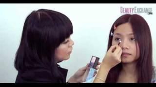 完全化妝學堂 - 眼影篇~ 眼妝示範︰雙眼皮化表