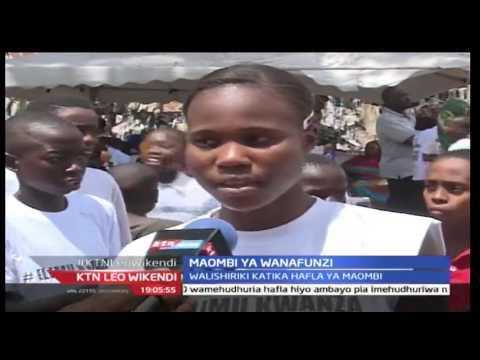 KTN Leo Wikendi 27th August 2016 - Wakazi wa Kisauni washiriki katika hafla ya maombi ya watahiniwa