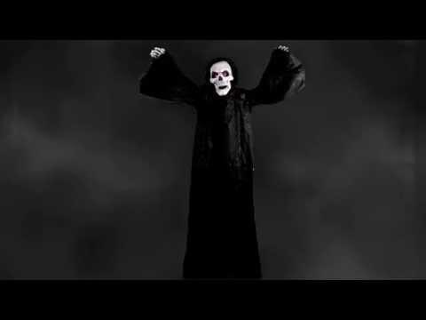Life-Sized Bobblehead Reaper Animated Prop – Halloween Decoration   trendyhalloween.com
