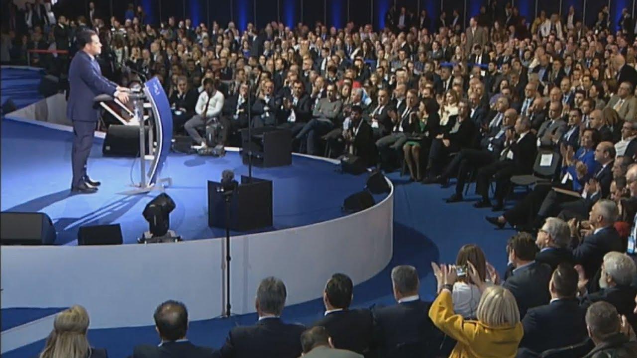 Απόσπασμα ομιλίας του  αντιπροέδρου της ΝΔ, Άδωνι Γεωργιάδη στο 12 Συνέδριο ΝΔ
