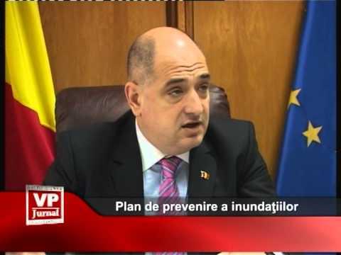 Plan de prevenire a inundaţiilor