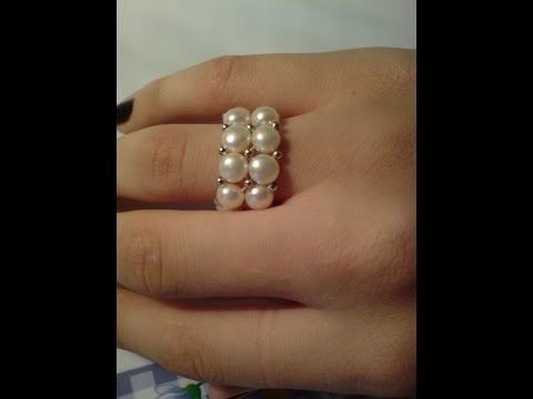 D.I.Y. Pearl Ring