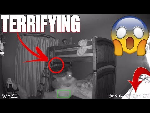TERRIFYING NIGHT CAUGHT ON CAMERA | KIDS START SCREAMING AT 3AM | WAS A GHOST IN THEIR ROOM?!