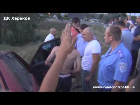 Пьяный сотрудник ДАИ в Харькове попал в ДТП