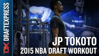 JP Tokoto 2015 NBA Draft Workout Video