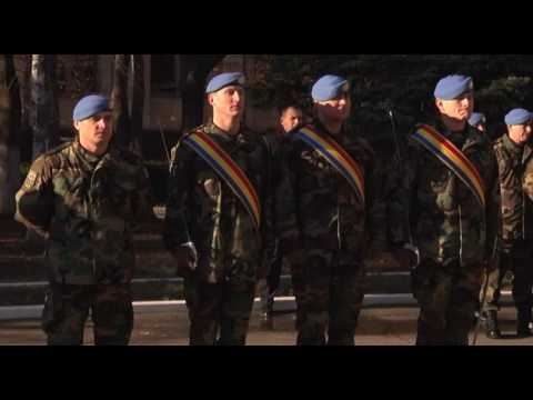 Moldovan president attends ceremony of detaching new National Army contingent to KFOR mission