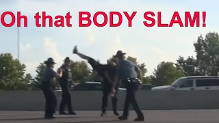 Angry SUV Driver Runs Through Black Lives Matter Protesters BLM