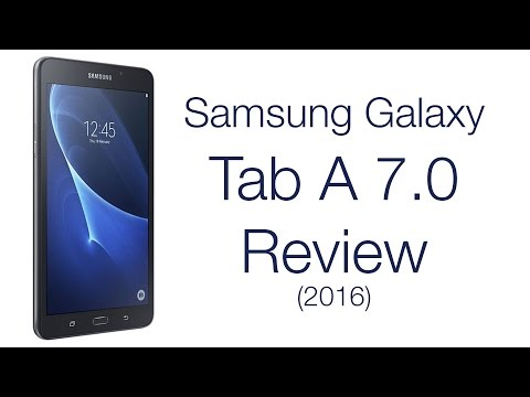 Samsung Galaxy Tab A 7.0 2016 Review! Is this budget tablet worth it? (SM-T280)