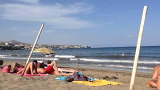 Maspalomas Spain  City new picture : Spain Canary islands beach Playa del Ingles Islas Canarias Gran Canaria Maspalomas Verano