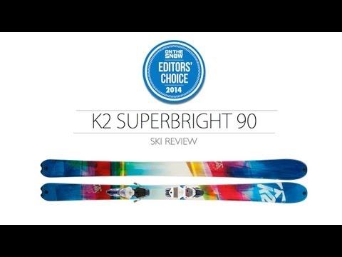 2014 K2 SuperBright Ski Review - Women's All Mountain Editors' Choice