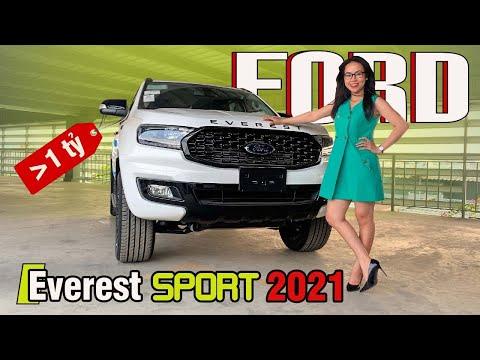 Ford Everest Sport 2021   Xe SUV 7 Chỗ Giá Từ 1,1 Tỷ Đồng   Gái Mê Xe