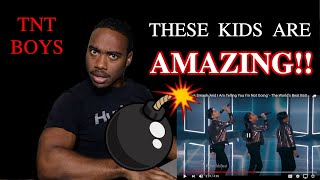 Video TNT Boys Smash 'And I Am Telling You I'm Not Going' || The World's Best {{REACTION}} MP3, 3GP, MP4, WEBM, AVI, FLV April 2019