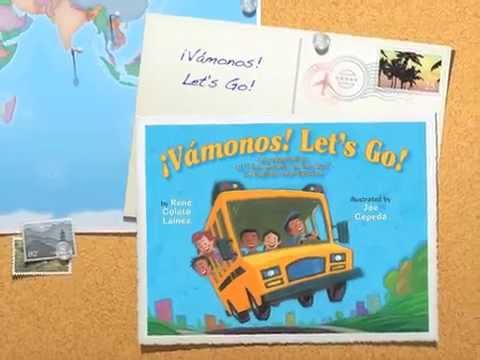 BOOK TRAILER: ¡Vámonos! Let's Go! by René Colato Laínez