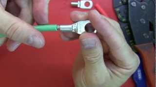 Video Tutorial: How to crimp connectors, strip wire and use heat shrink. MP3, 3GP, MP4, WEBM, AVI, FLV Juni 2019