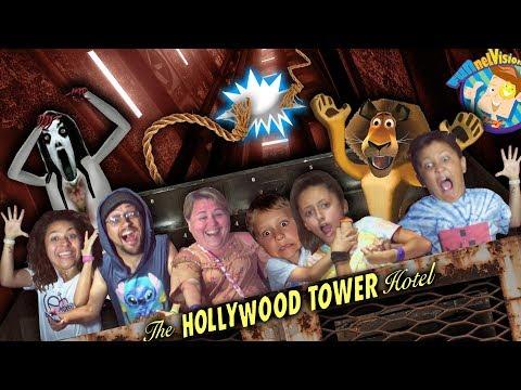 The ELEVATOR DROPPED!! (FUNnel Vision DISNEY WORLD & UNIVERSAL STUDIOS Vlog)
