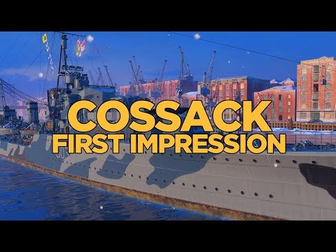 World of Warships - Cossack First Impression