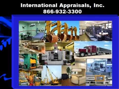 Machinery & Equipment Appraisers | International Appraisals, Inc.