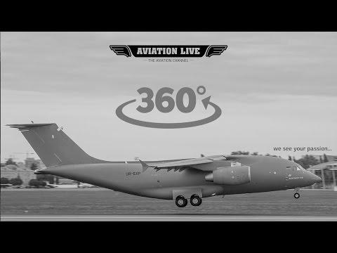 Обзор 360°: видео из кабины пилотов Ан-178 - Центр транспортных стратегий