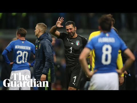 Italy out of World Cup 2018 after draw with Sweden