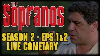 "The Sopranos Season 2 Episode 1 ""Guy Walks into a Psychiatrist's Office"" Live Commentary (And ""Do Not Resuscitate"")""Guy Walks into a Psychiatrist's Office..."" is the fourteenth episode of the HBO original series The Sopranos and the first of the show's second season. It was written by Jason Cahill, directed by Allen Coulter and originally aired on January 16, 2000.""Do Not Resuscitate"" is the fifteenth episode of the HBO original series The Sopranos and the second of the show's second season. It was written by Robin Green, Mitchell Burgess and Frank Renzulli, directed by Martin Bruestle and originally aired on January 23, 2000.---Please Subscribe: https://www.youtube.com/user/theissuesguystuff?sub_confirmation=1To help us Keep going and create more content please consider:Supporting the channel on Patreon: https://www.patreon.com/philtheissuesguyDonating:  https://youtube.streamlabs.com/philtheissuesguyor directly on Paypal:  https://www.paypal.me/PhiltheissuesguyCheck out your favorite Shows Playlist! https://www.youtube.com/user/theissuesguystuff/playlistsSubscribe to our podcasthttp://issuesprogram.com/itunes/https://itunes.apple.com/us/podcast/phils-recap-and-review-with-phil-theissuesguy-podcast/id943187265?mt=2Thanks for the support!---Please use our offers and link for free stuff and deal! http://www.audibletrial.com/Issues to sign up for 30 free days of Audible and get a free book! It helps us out BiG TIMEl! :)To get 30 days free with 1 games out on Gamefly sign up with the link: http://gameflyoffer.com/issuesSign up LootCrate! http://www.trylootcrate.com/issuesJoin the Record of the Month club: http://joinvmp.com/issues----Stay connected!Discord: https://discord.gg/0upUVdagXcUuzbfGGoogle Community: https://plus.google.com/u/0/communities/116286288385889495387Songs Used on the Show:  https://soundcloud.com/user-521817999And for more check out : http://Issuesprogram.com and our sisters channel http://youtube.com/dirtyissues for more fun!And If you have any questions or anything Call/Text 781 990 8509- 24/7Tweet @igotissuesmanor email igotissuesman@gmail.comThanks!http://issuesprogram.comhttps://twitter.com/igotissuesmanhttps://www.facebook.com/theissuesguyhttps://twitter.com/dirtylockzPartners/Associations Land Of ESH : http://www.electricsistahood.com http://www.youtube.com/dirtyissuesG4 Comic Etc: http://www.g4comicsetc.comWant to send us something Phil TheIssuesGuyP.O. Box 236 Marblehead, MA 01945------------------------------------------------------------------------------------------------------------------------------------------------------------------------The Sopranos is an American crime drama television series created by David Chase. The story revolves around the fictional character, New Jersey-based Italian American mobster Tony Soprano (James Gandolfini). The series portrays the difficulties he faces as he tries to balance the conflicting requirements of his home life and his criminal organization. These are often highlighted during his therapy sessions with psychiatrist Jennifer Melfi (Lorraine Bracco). The series features Tony's family members, mafia colleagues and rivals, in prominent roles and story arcs, most notably his wife Carmela (Edie Falco) and protégé Christopher Moltisanti (Michael Imperioli)."
