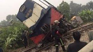 Cận cảnh vụ lật tàu hỏa chở khách thảm khốc ...