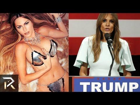 Melania Trump i jej odważne fotki
