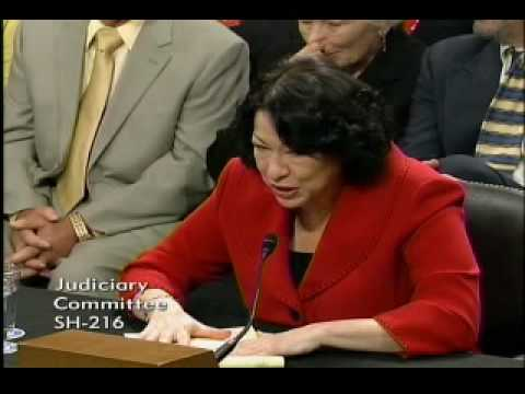 Senator Charles Grassley Questions Judge Sonia Sotomayor